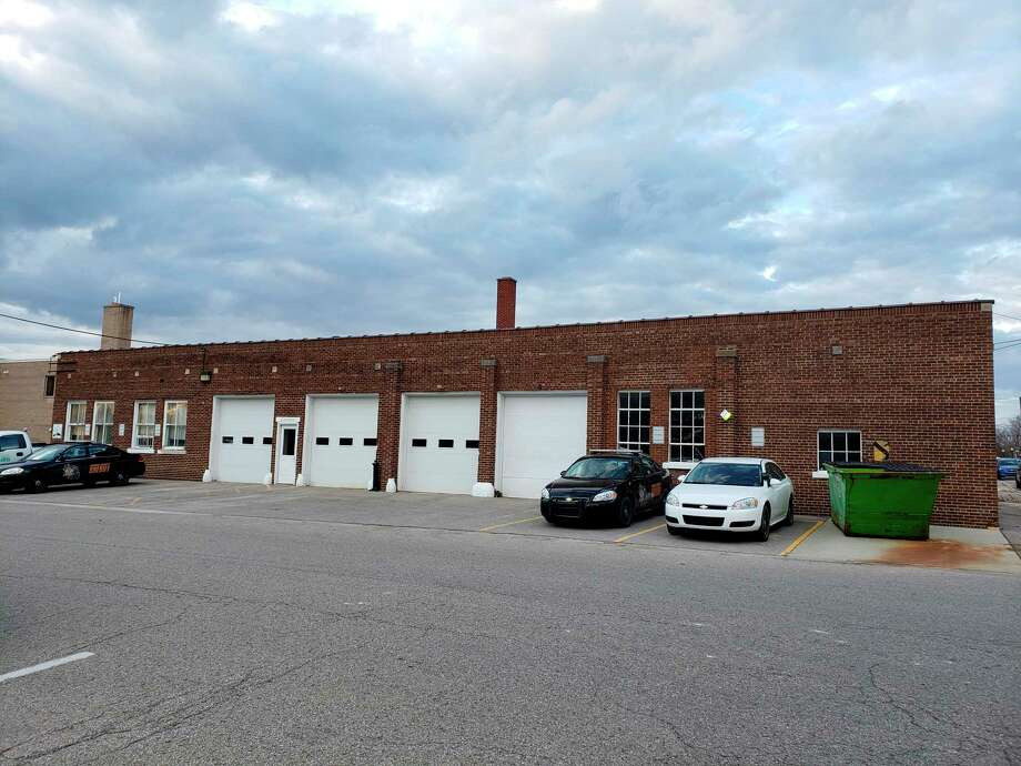 The current Huron County Sheriff's Department garage in Bad Axe. Plans for a replacement garage are still in the works. (Tribune File Photo)