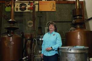"""""""We had high hopes for 2020 before March,"""" says Cayce Kovacs of Hill Country Distillers, """"but then COVID-19 closed our tasting room."""" She started the distillery with her husband, John, in 2013."""