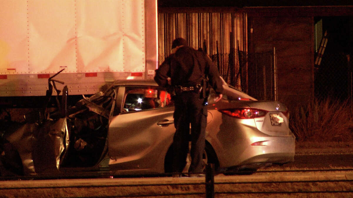 A suspected intoxicated wrong-way driver caused two major crashes that killed two men on Christmas Eve, according to authorities.
