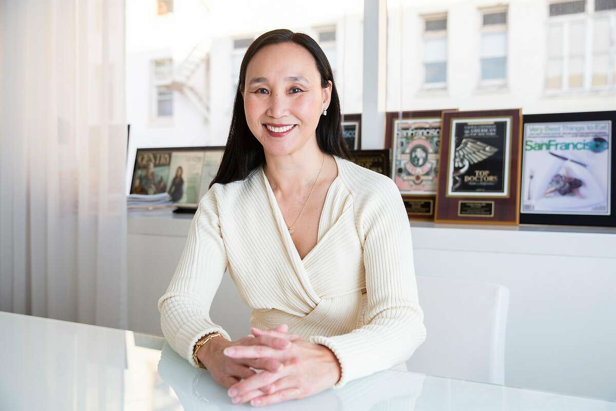 Dr. Carolyn Chang, a Pacific Heights plastic surgeon, saw a huge spike in requests for facial surgeries during the early months of the pandemic from patients wanting to use the downtime of closed offices and nonexistent social events for recuperation.
