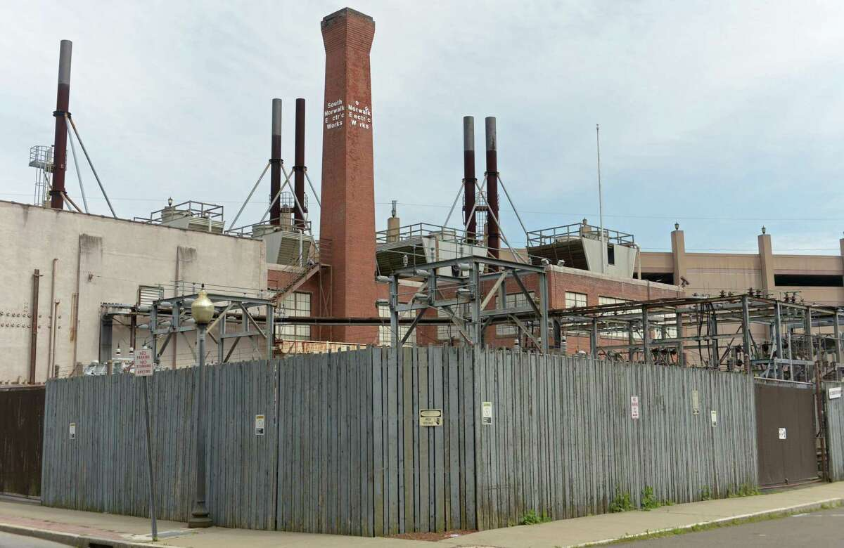 An underground transformer failure caused 56 South Norwalk residents to lose power for about 20 hours Wednesday into Thursday. The South Norwalk Electrical Works Wednesday, June 20, 2018, in Norwalk, Conn.