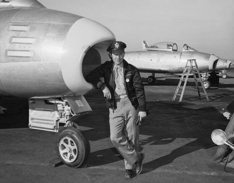 In 1949, then-Capt. Yeager, 25, had spent more time flying supersonic jet planes than anyone else. Photo: Bettmann/Bettmann Archive