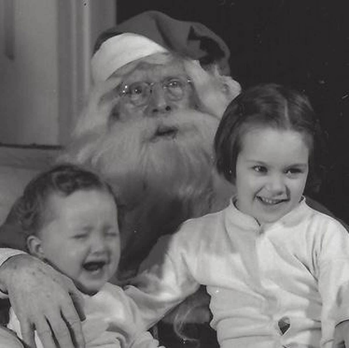 Charley Ashbee played Santa Claus to children in Rigefield for three decades, from the Great Depression into the start of 1960s.
