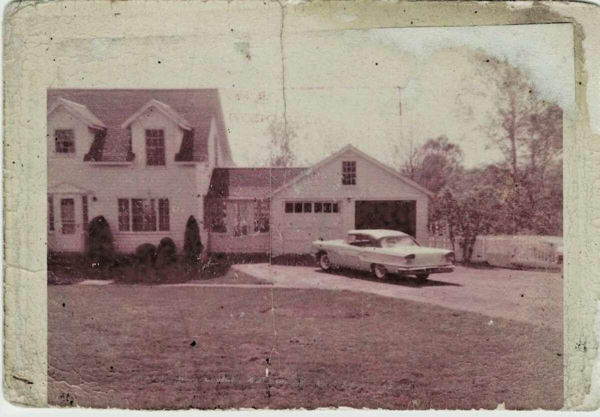 C.D. Peterson's original 1958 Pontiac.