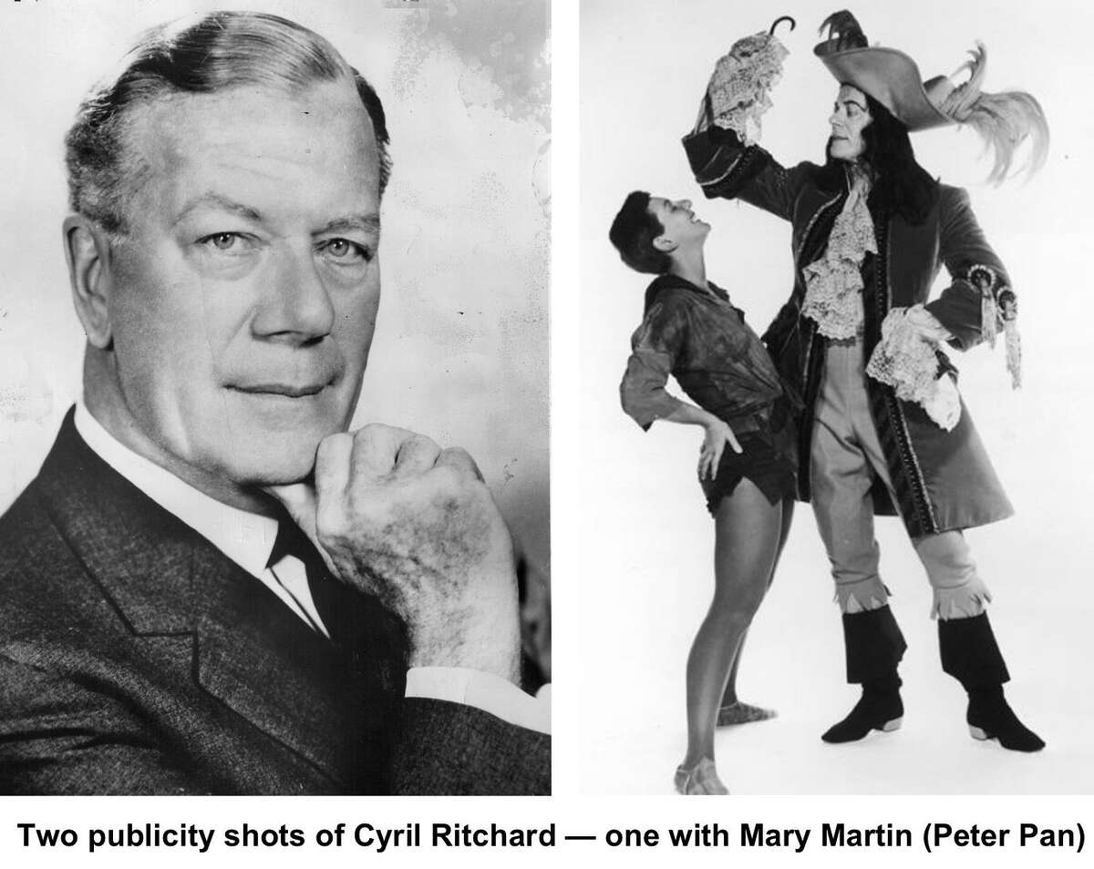 Cyril Ritchard appeared as Captain Hook along side Mary Martin aas Peter Pan on Broadway and on television.