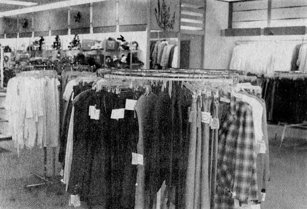 From the 1980 Manistee News Advocate Christmas Edition, this interior photo of the Milliken's store, formerly located at 400 River St. shows a small portion of the junior wear and ladies fashions that were in stock during the holiday season of 1980. (Manistee County Historical Museum photo)