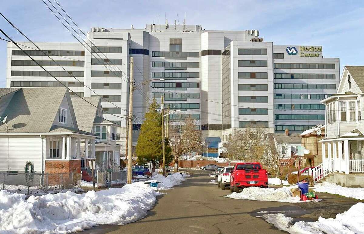 The West Haven VA Medical Center on Dec. 23, 2020.