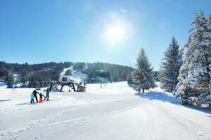 The sunny slopes of Mohawk Mountain in Cornwall are open, and owners say skiiers are happy to be outdoors and enjoying the winter weather.