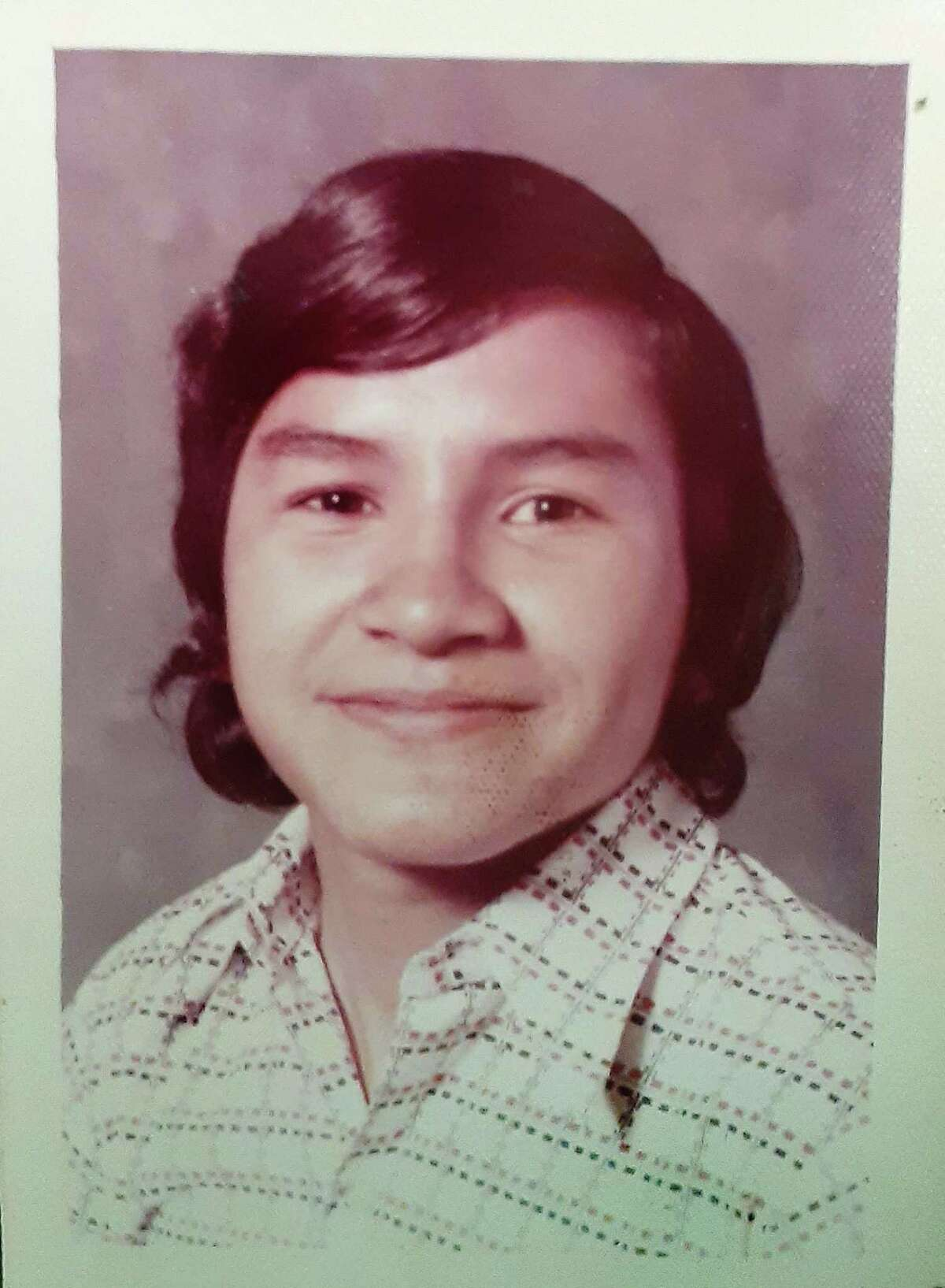 Jose Homero Gonzalez Jr. at 16 years of age.