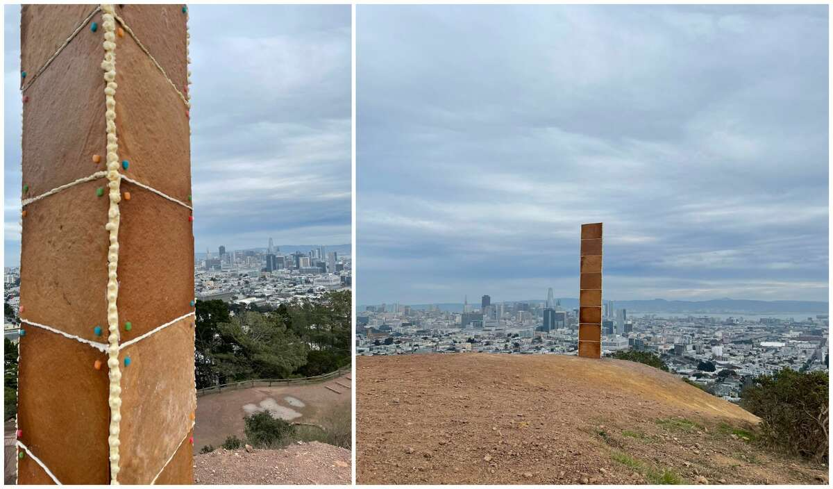 A mysterious monolith has appeared in San Francisco, following weeks of metal monoliths popping up in other parts of the world. San Francisco's version, however, appears to be edible.