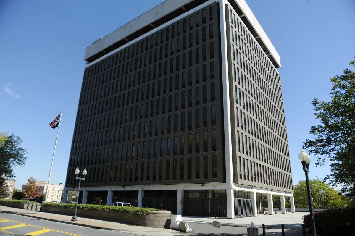 A view of the Leo O'Brien Federal Building in Albany, NY. (Paul Buckowski / Times Union)