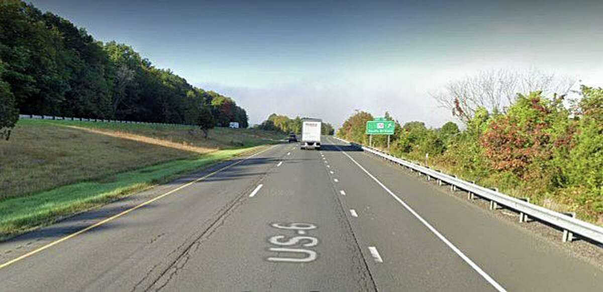 An 85-year-old New York man was killed on Christmas Eve on Dec. 24, 2020 mafter he walked out on I-84 in Southbury and was struck by a vehicle, State Police said. The victim was identified as Ronald J. Shaw, of Holmes, N.Y. According to the accident report, Shaw was driving a 2014 Subaru Impreza westbound on I-84 just before exit 16. Image shows approximate location of the incident.