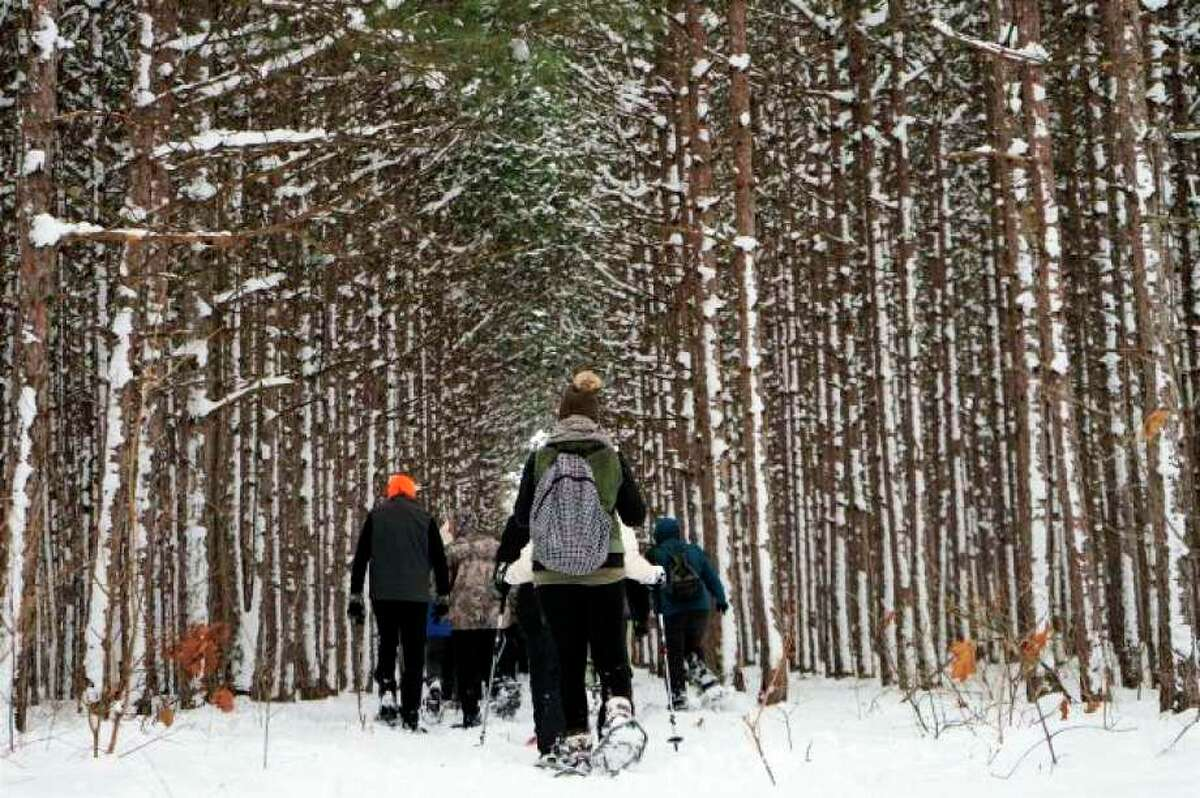 The Ludington State Park plans to offer guided snowshoe walks in January and February. (File photo)