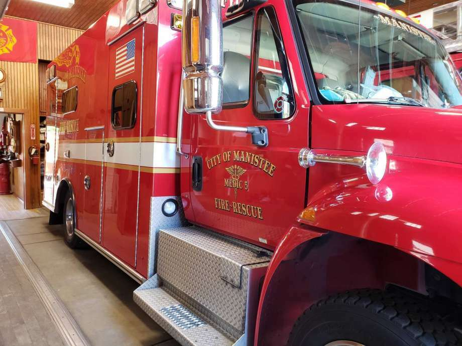 The Manistee City Fire Department responded to a garage fire on Dec. 24. Photo: File Photo