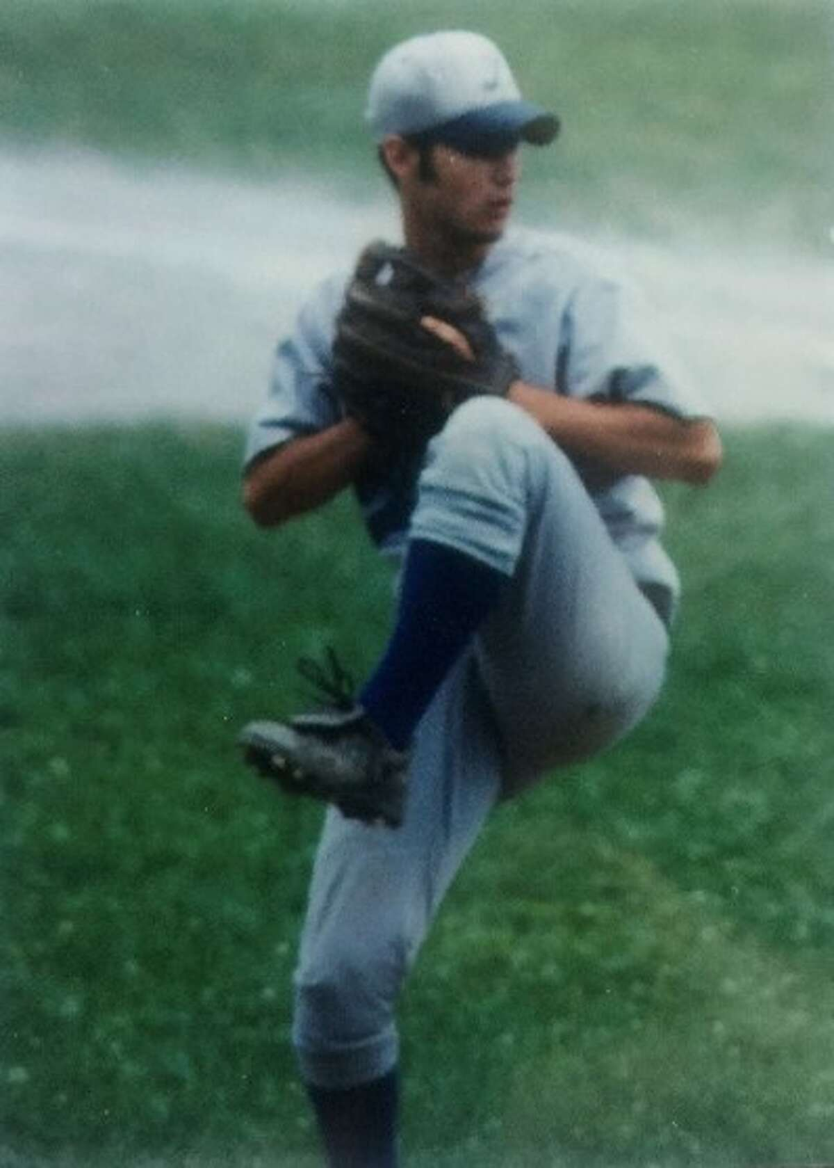 3. I played baseball and was a pitcher.