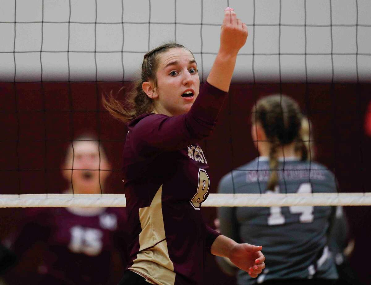Magnolia West senior Alyssa May (8) is The Courier's Offensive Most Valuable Player.