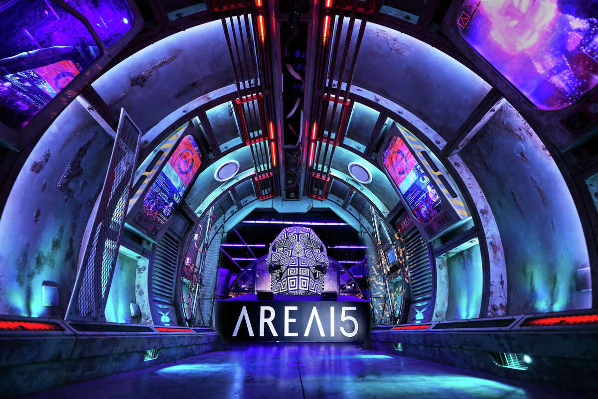 AREA15 is one of Las Vegas' most recent entertainment complexes offering immersive art, culture and food activities.