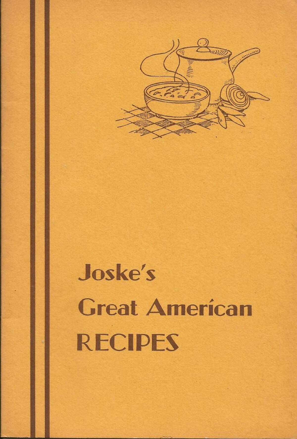 This photo shows the cover of a cookbook published by Joske's department store. Some speculate it may have been published in the 1970s, but it is undated and little is known about it. Joske's flagship store stood in downtown San Antonio on Alamo Plaza from 1888 until it closed in 1987.