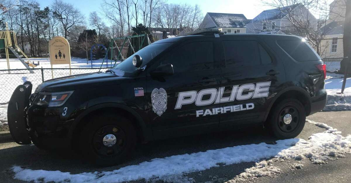 Fairfield police Lt. Antonio Granata said Jonmichael Young, 41, was arrested and charged with fifth-degree larceny and second-degree forgery.