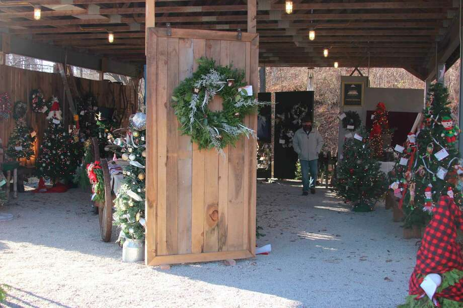 The Festival of Trees was held in an outdoor pavilion owned by the Benzie Area Historical Museum. (File Photo)