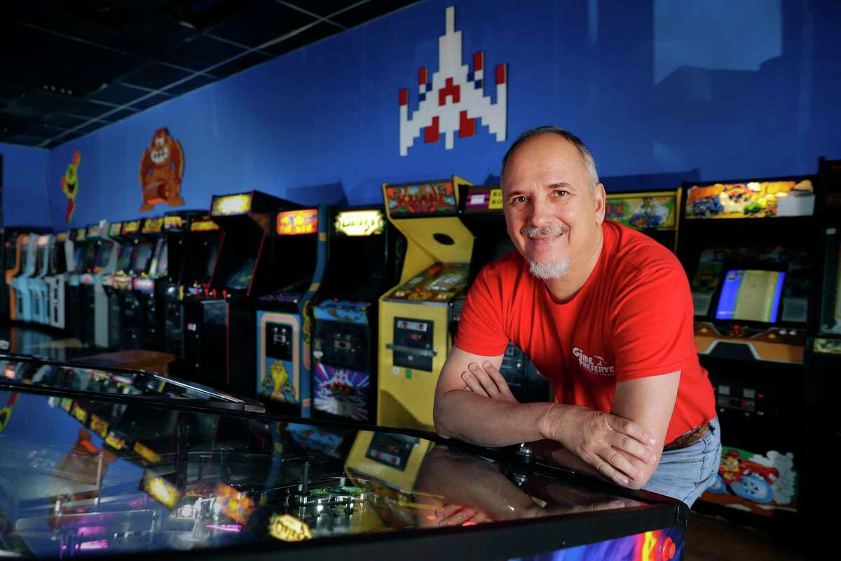 William Russell Keys, owner of The Game Preserve arcade, says the industry has suffered financially during the COVID-19 pandemic.
