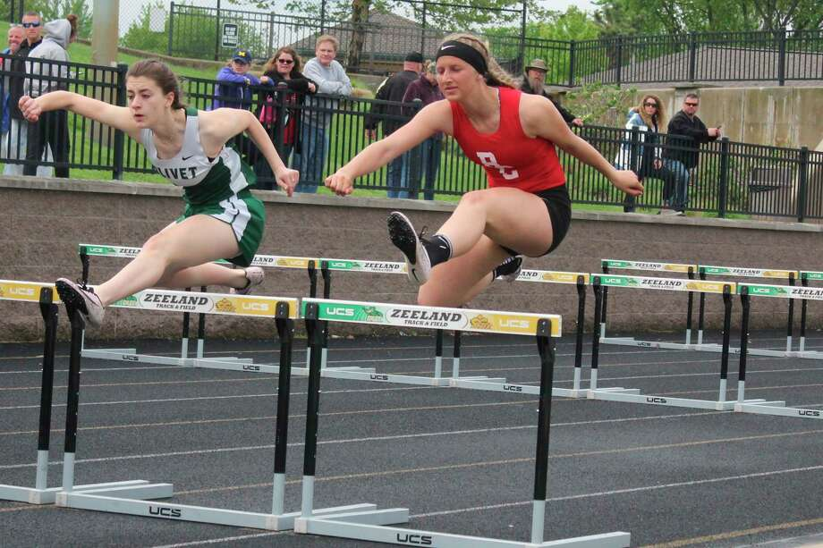 Many Benzie Central track athletes, such as Andrea Taghon (pictured) entered 2020 with all-state aspirations prior to the cancelation of their season. (Record Patriot File Photo)