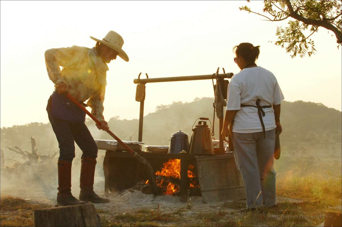 Ranch guests enjoy three meals a day,  horseback riding, hiking, hayrides, campfire sing-alongs and more.