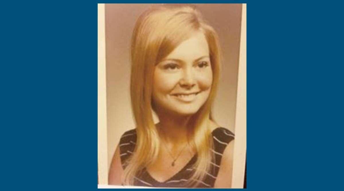 The author's mother, Vicki Williams (Dalton), in her senior portrait.