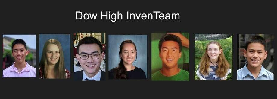 From left, Caleb Qiu, Zoe Angell, Andrew Zhou, Abigail Ahn, Alex Kuo, Laura Leiti, and Bobo Qiu. (Photo provided)