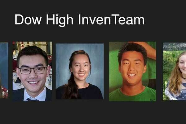 From left, Caleb Qiu, Zoe Angell, Andrew Zhou, Abigail Ahn, Alex Kuo, Laura Leiti, and Bobo Qiu. (Photo provided)