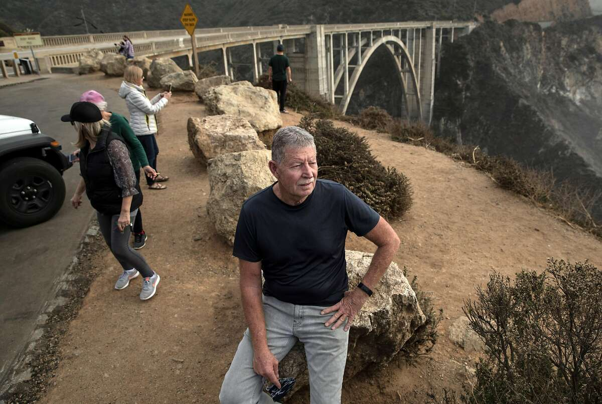 Butch Kronlund, executive director of community association of Big Sur, tries to keep tourism under control.