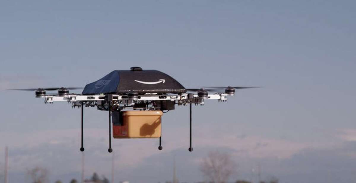 That delivery drone is a step closer to reality.
