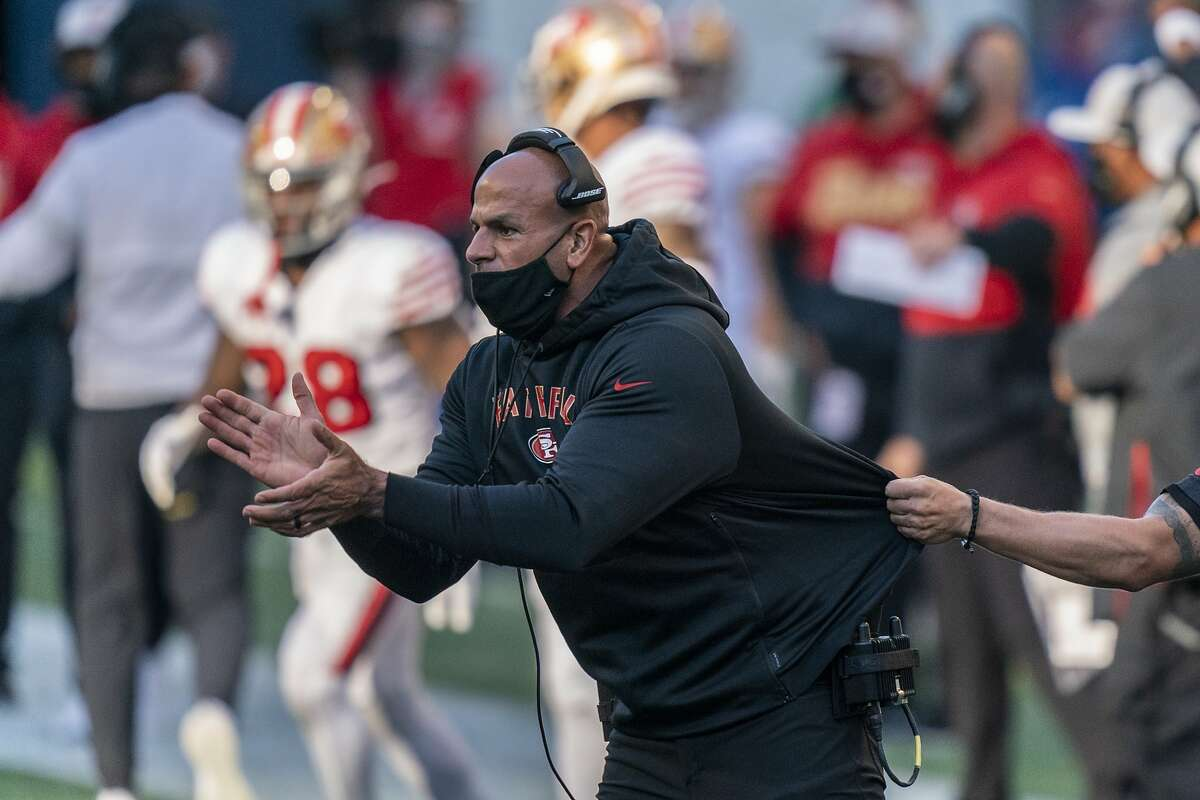 Robert Saleh, 41, ran a 49ers defense that ranked in the NFL's top five the past two seasons.
