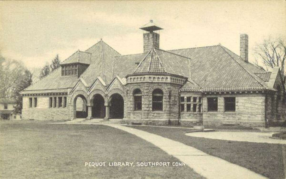 The Pequot Library was opened to the public in March of 1894.