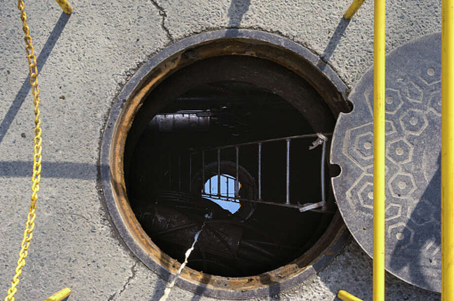 The upcoming Jacksonville budget has around $50,000 to $60,000 set aside for a manhole replacement project. Photo: Scott Shymko / 2017 Scott Shymko
