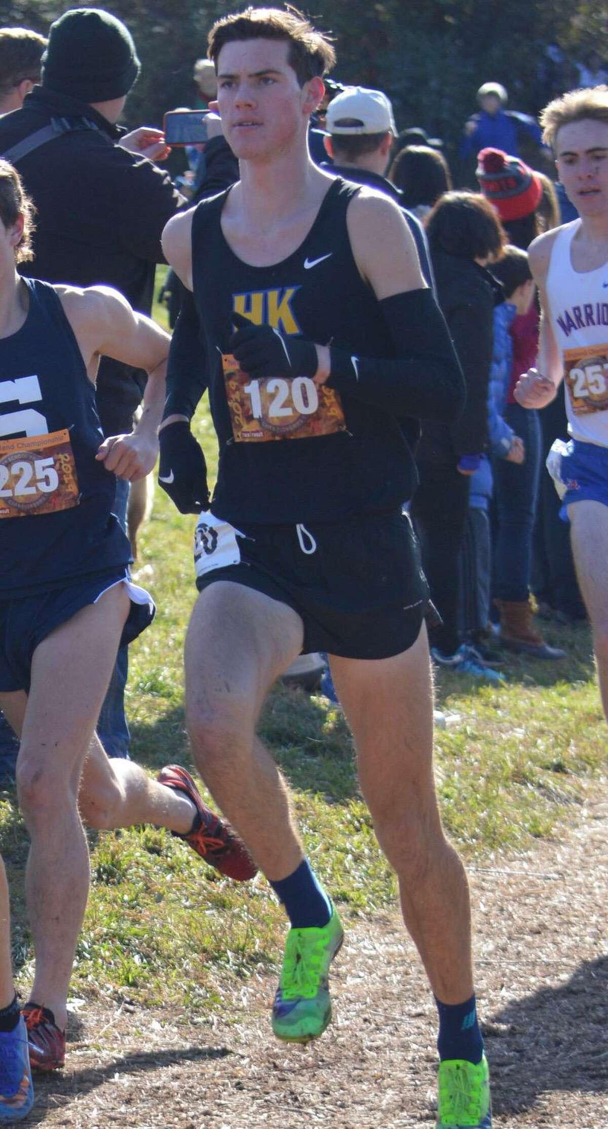 Haddam-Killingworth's Matthew Jennings will run track and cross country at Yale .