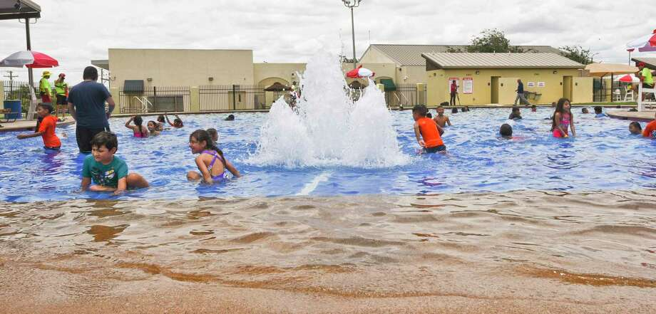 Laredoans enjoy tubing, sliding and the pool on Saturday, June 1, 2019, during the opening of Sisters of Mercy Water Park. Photo: Danny Zaragoza, Staff Photographer / Laredo Morning Times / Laredo Morning Times