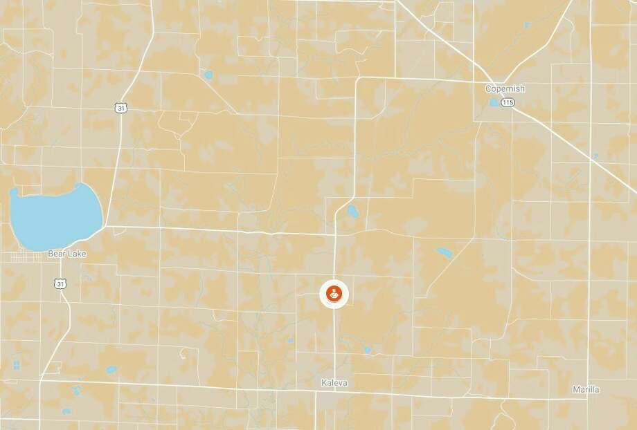 Branden Michael Traeger was stopped as a driver for speeding on Dec. 23 on Healy Lake Road near Pihl Road in Maple Grove Township, according to a news release from Michigan State Police on Tuesday. (Google Maps screenshot)