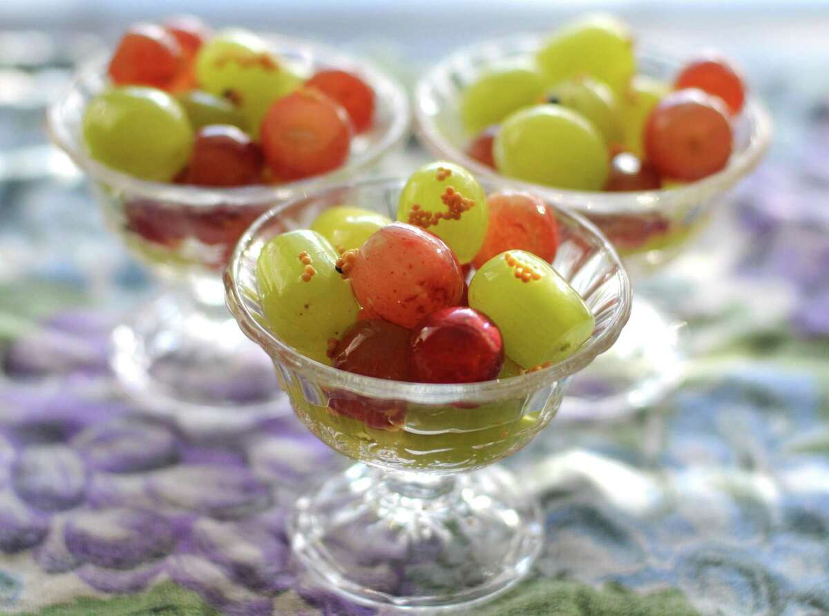 In Spain, Mexico and other Latin American countries, it's custom to eat 12 grapes when the clock strikes midnight.
