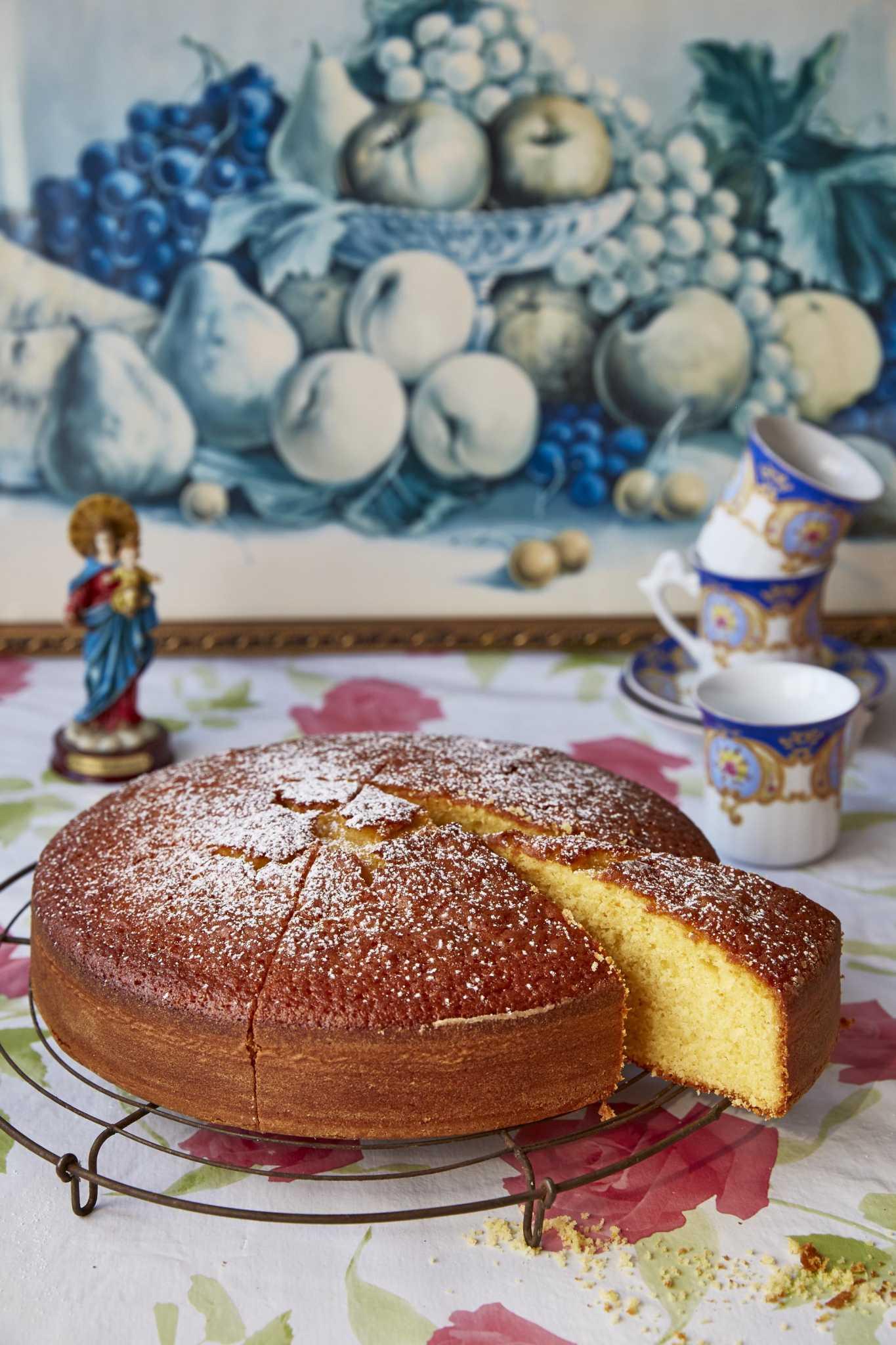Συνταγή: Πορτοκαλί Κέικ Βασιλόπιτα