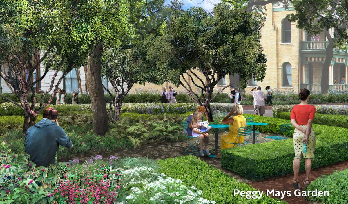 On Tuesday, Hemisfair announced the construction of a garden along East Nueva Street. The project will be funded by a $1 million grant from the Mays Family Foundation, the first seven-figure donation to the Hemisfair Conservancy.