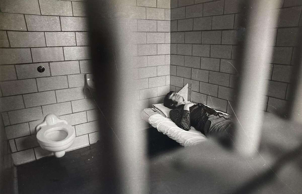 This is really the picture of dedication, even if it looks like Dave Murphy is passed out in a holding cell in 1979. It was all for a story on drunken driving.