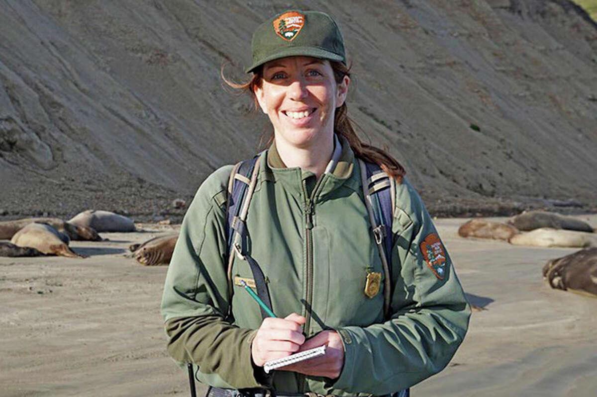 Marine mammal ecologist Sarah Codde