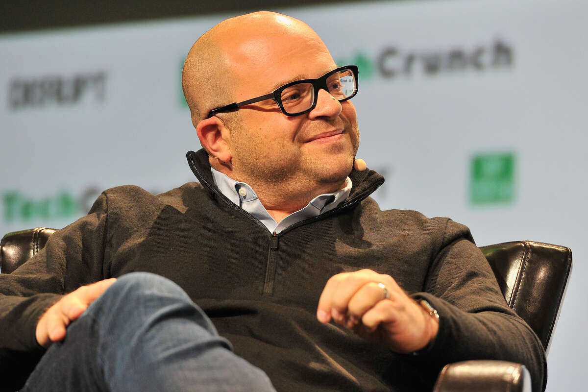 File photo of Twilio CEO Jeff Lawson in San Francisco, California.
