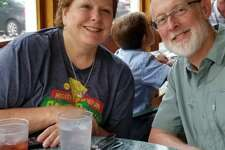 Karen and Cliff Cawley, of Beaumont