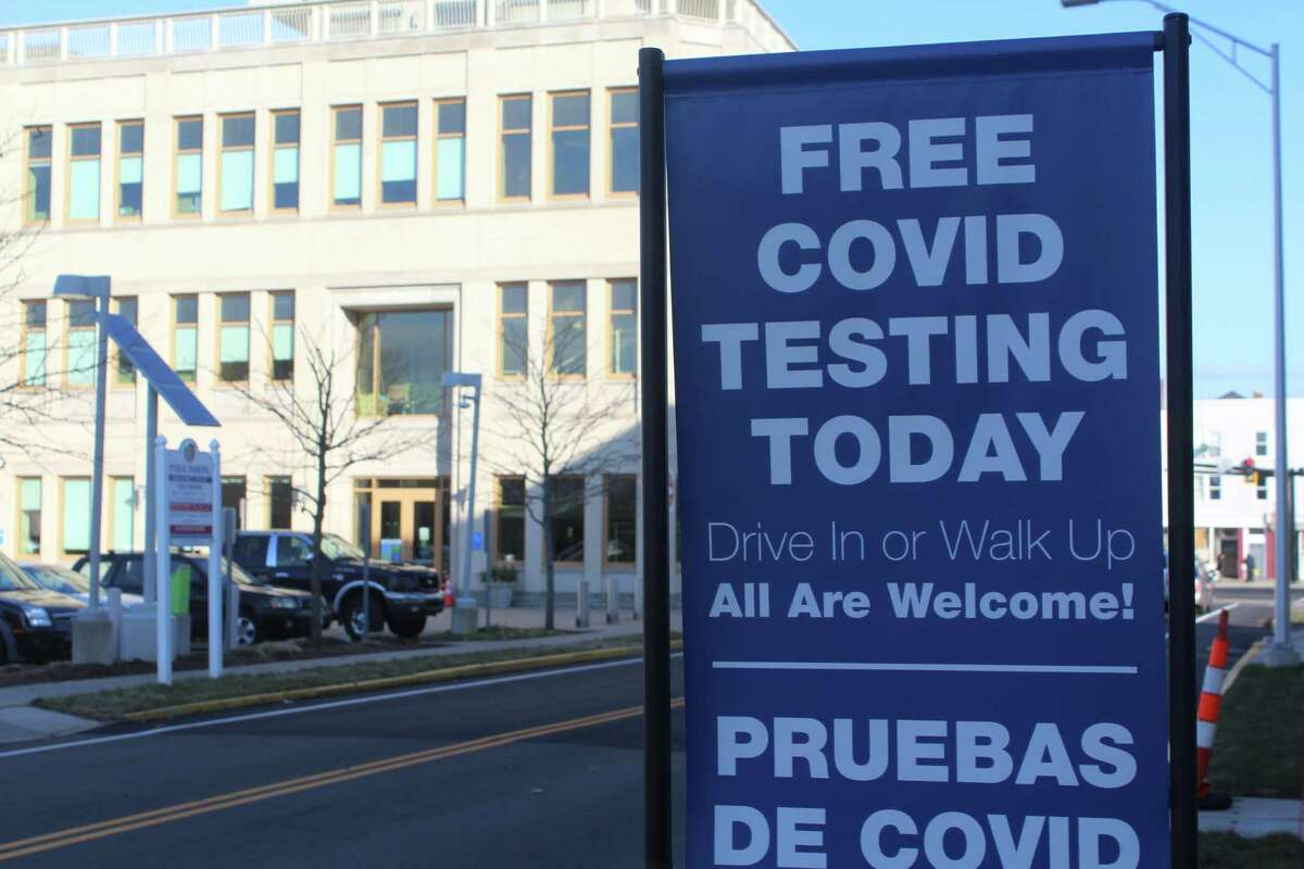 Community Health Center staff administered COVID-19 tests to the public Monday afternoon in Middletown, aided by members of the Connecticut National Guard.