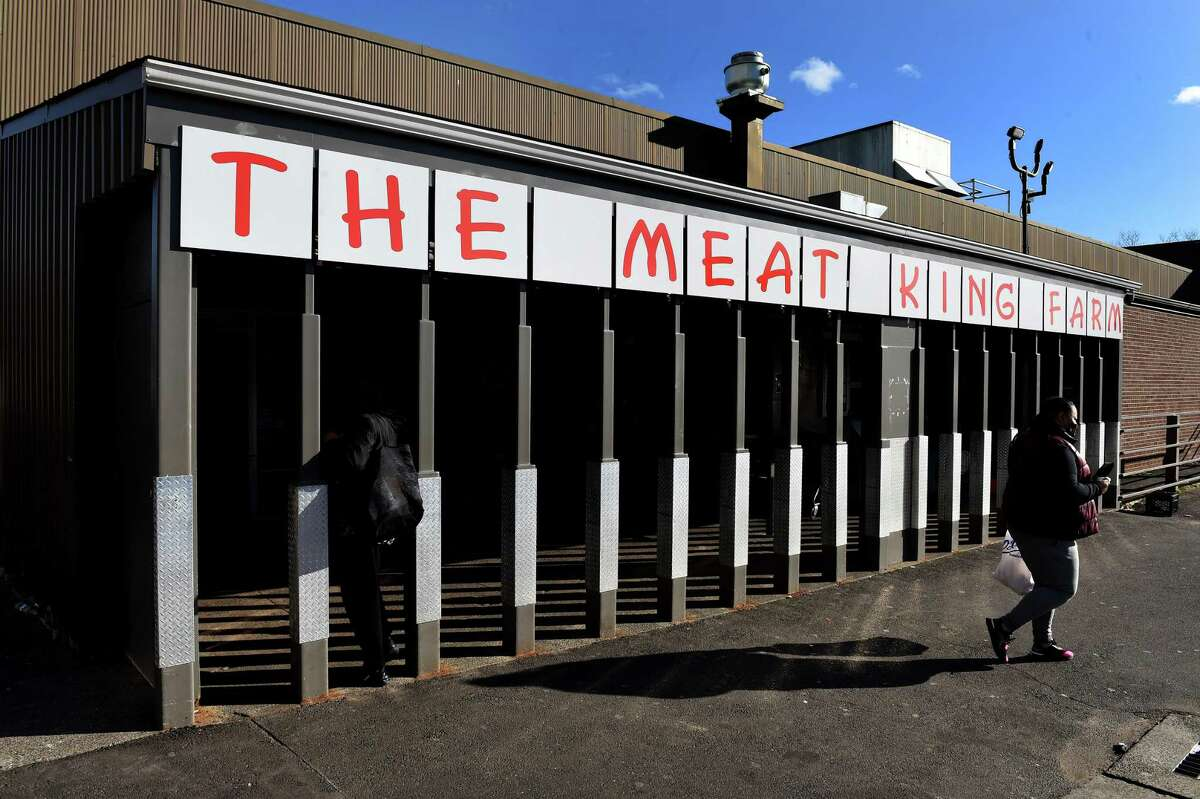 The Meat King Farm is now open in the former location of Ferraro's Market at 664 Grand Ave. in New Haven on Dec. 29, 2020.