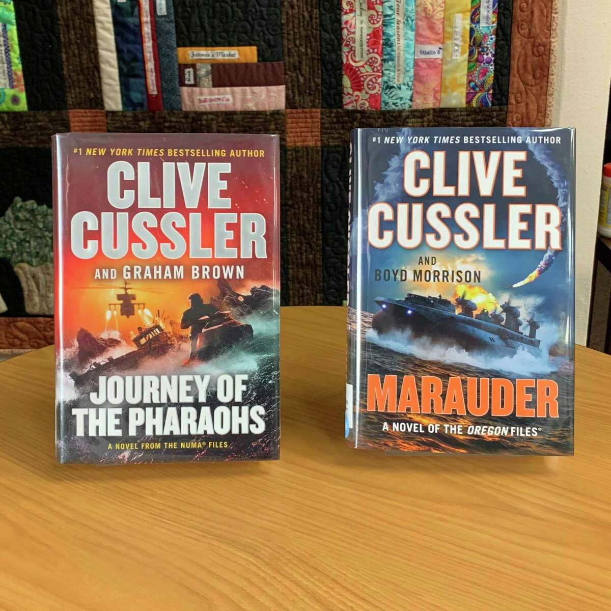 """Clive Cussler wrote American adventure novels and was frequently listed on the New York Times Best Seller list. His latest novels are """"Journey of the Pharaohs"""" in which the National Underwater and Marine Agency teams up with MI5 agents to search for lost Egyptian treasure to keep it from a cartel of thieves and gunrunners. (Courtesy photo)"""
