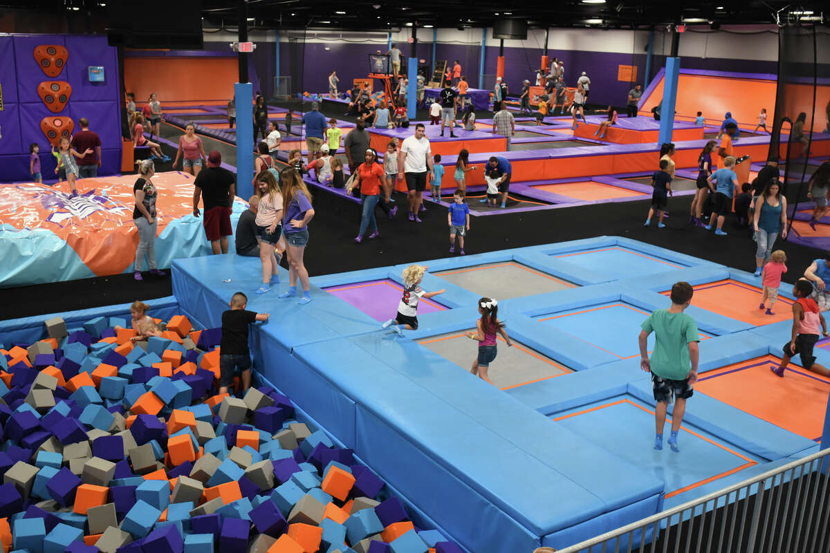 Altitude Trampoline Park in Odessa will be open New Year's Eve and New Year's Day. The venue is planning a balloon drop at noon on New Year's Eve.
