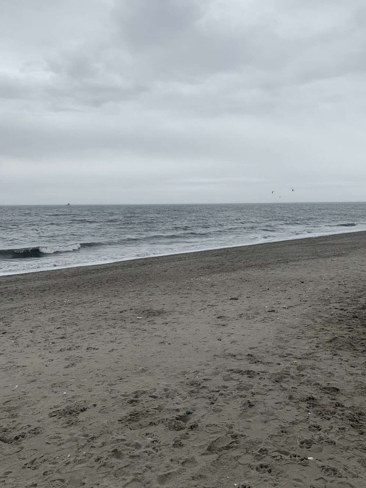 Fairfield resident Matt Podolsky sent photos in front of Long Island Sound at Jennings Beach by Fairfield Harbor before the Christmas Eve storm came Dec. 24 in 52 degree weather. Podolsky said it was